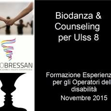 Professionisti della Disabilità dopo una Formazione Esperienziale in Biodanza e Counseling