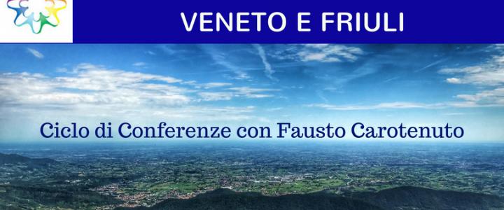 Conferenze di Coscienze in Rete con Fausto Carotenuto in Veneto e Friuli