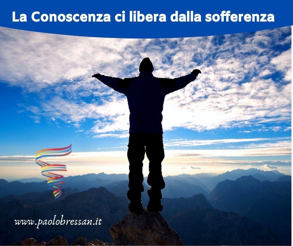 articolo Blog La Conoscenza libera dalla Sofferenza